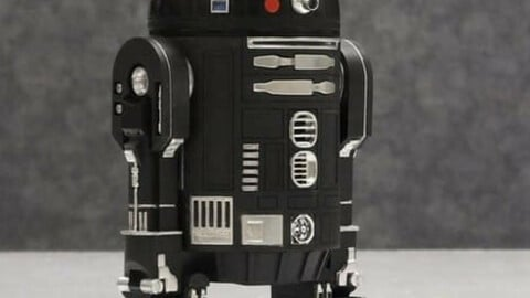 R2-D2 Droid 3D Printing Files | Assembly + Action