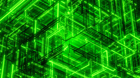 Abstract Matrix cube
