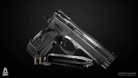 CZ 75 TS Czechmate : Game Ready Version