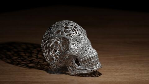 Abstract Decor Skull