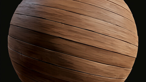 Stylized Wood Substance