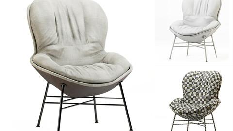 3dasset softy armchair ditre