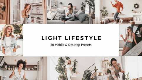 20 Light Lifestyle LUTs and Lightroom Presets