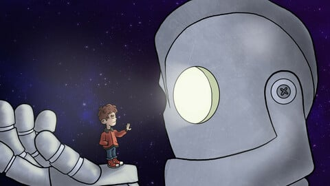 The Iron Giant Fan Art