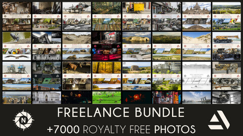 FREELANCE BUNDLE: All of my Reference Photos + Free updates (Save 210$)