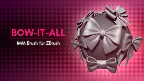 [IMM Brush] Loop Bows Brush for ZBrush 2021