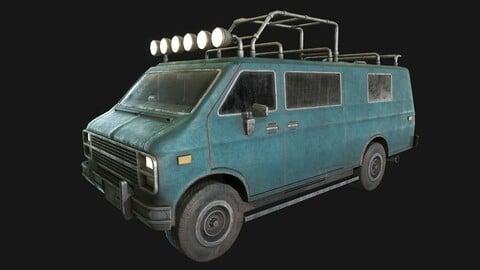 Chevrolet Van (LowPoly)