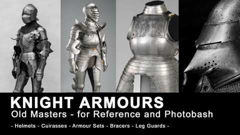 KNIGHT ARMOUR (1300+ HQ JPEG) - for Reference and Photobashing