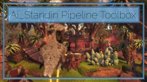 Ai_Standin Pipeline Toolbox - Arnold for Maya