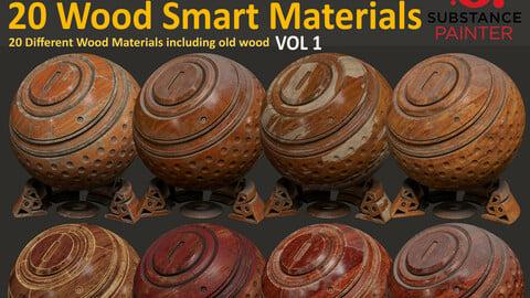 20 Wood Smart Materials - Vol1