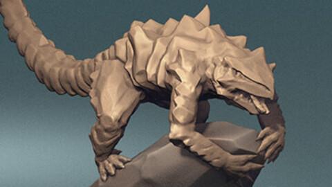 Grahknash of Sol'Kesh -- 3D Print