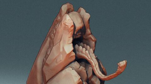 Molluctite of Sol'Kesh -- 3D Print