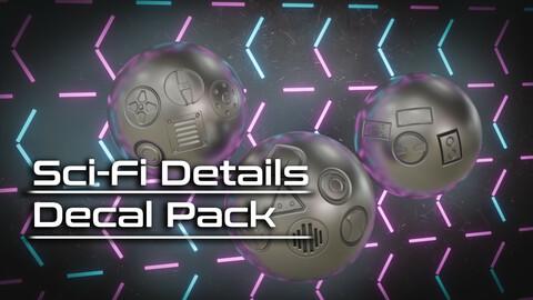 Sci-Fi Decal Pack