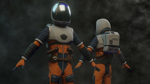 Spacesuit 3d model