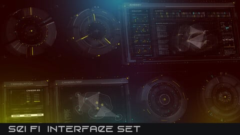Sci Fi Interfaces Set