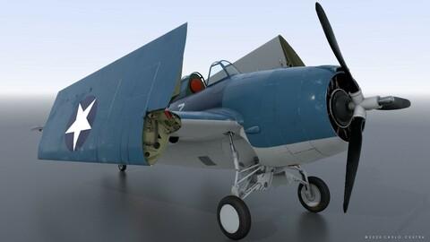GRUMMAN F4F-4 9-GF-7