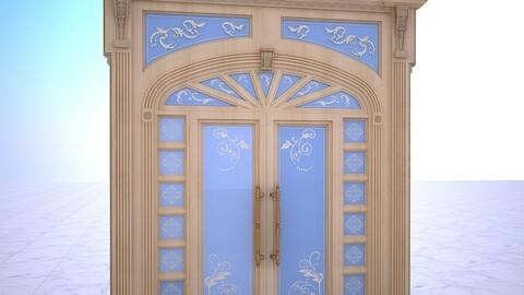 Entrance Door2 3D Model