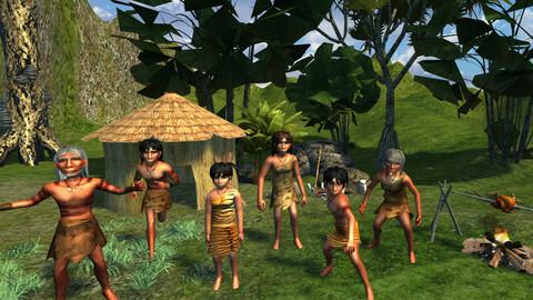 Caveman Tribe