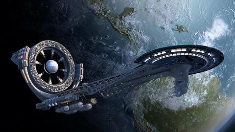 Spaceship - Illustration Pack