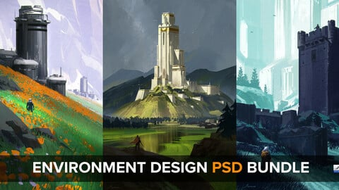 ENVIRONMENT DESIGN -PSD BUNDLE