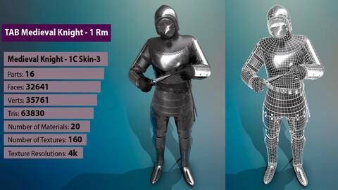 TAB Medieval Knight - 1Rm C - Skin3