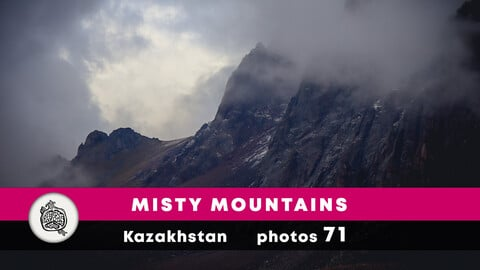 Misty mountains photopack