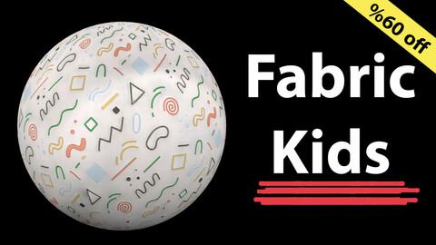 Fabric Kids / Funny Kids fabric / Sbsar