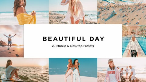 20 Beautiful Day LUTs and Lightroom Presets