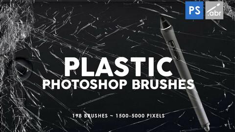 198 Plastic Photoshop Stamp Brushes