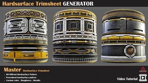 Hardsurface Trimsheet GENERATOR