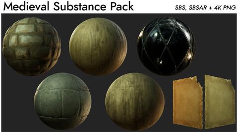 Medieval Substance Pack