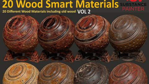 20 Wood Smart Materials - Vol 2
