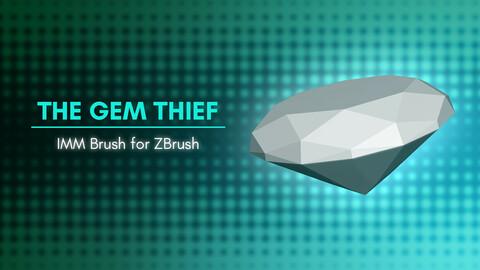 [IMM Brush] The Gem Thief IMM Brush for ZBrush 2021