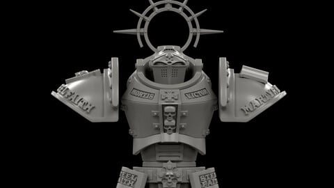 Knight MKII Conversion Parts for 3D Print