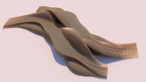 Tie Parametric Bench