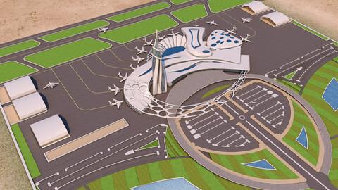 Air Port Project 01 - 3Ds Files - 2Ds Plans