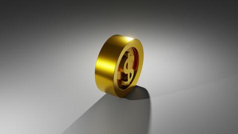 dollar's coin $