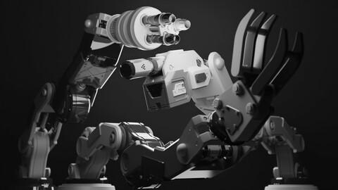 Robot, Turret. Manipulator, Welder, Pyro, Sentry