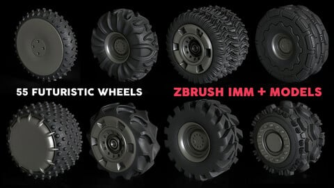 55 Ultimate Wheels Pack Vol.1