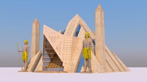 Modern Egyptian Pyramids