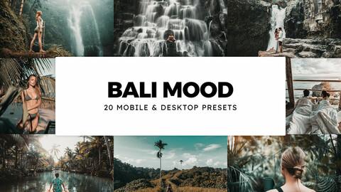 20 Bali Mood LUTs and Lightroom Presets