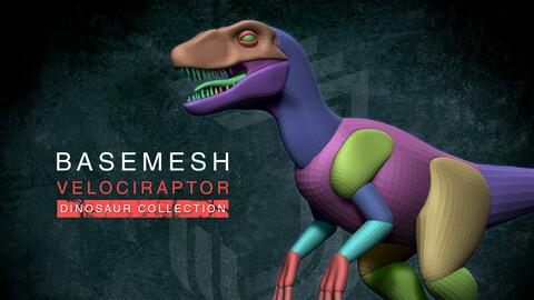 Blockout Velociraptor
