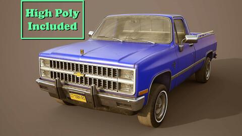 Chevrolet C10 1982 Blue
