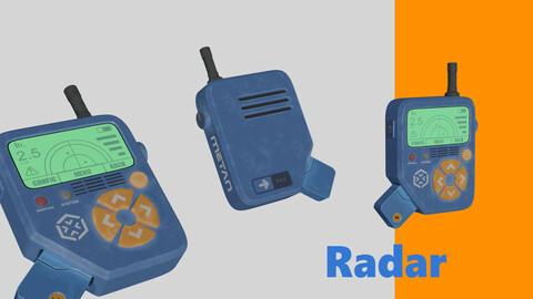 Radar Metan hard-surface