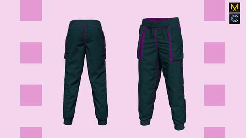 Baggy pants - Marvelous Designer & CLO3d projects + OBJ