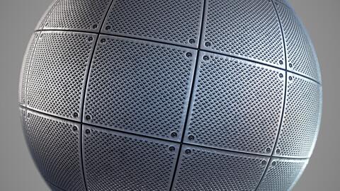 PBR floor drain grate 2K Material