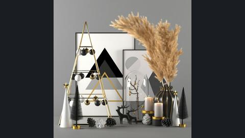 Christmas decorative set