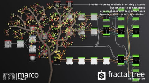 MV Fractal Tree Node - System