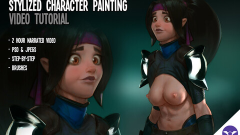 Stylized Character Painting