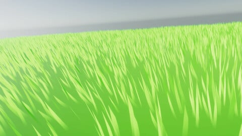 Unity HDRP | SMM - Stylized Grass